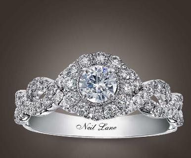 Neil lane engagement rings a realistic wedding 1 carat total weight engagement ring junglespirit Image collections