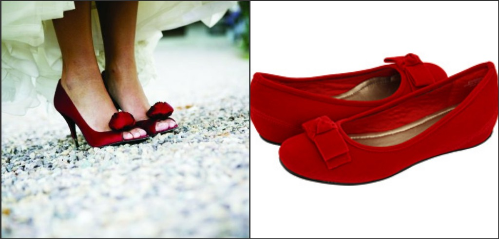 catálogo de zapatos rojos para novia - foro moda nupcial - bodas.mx