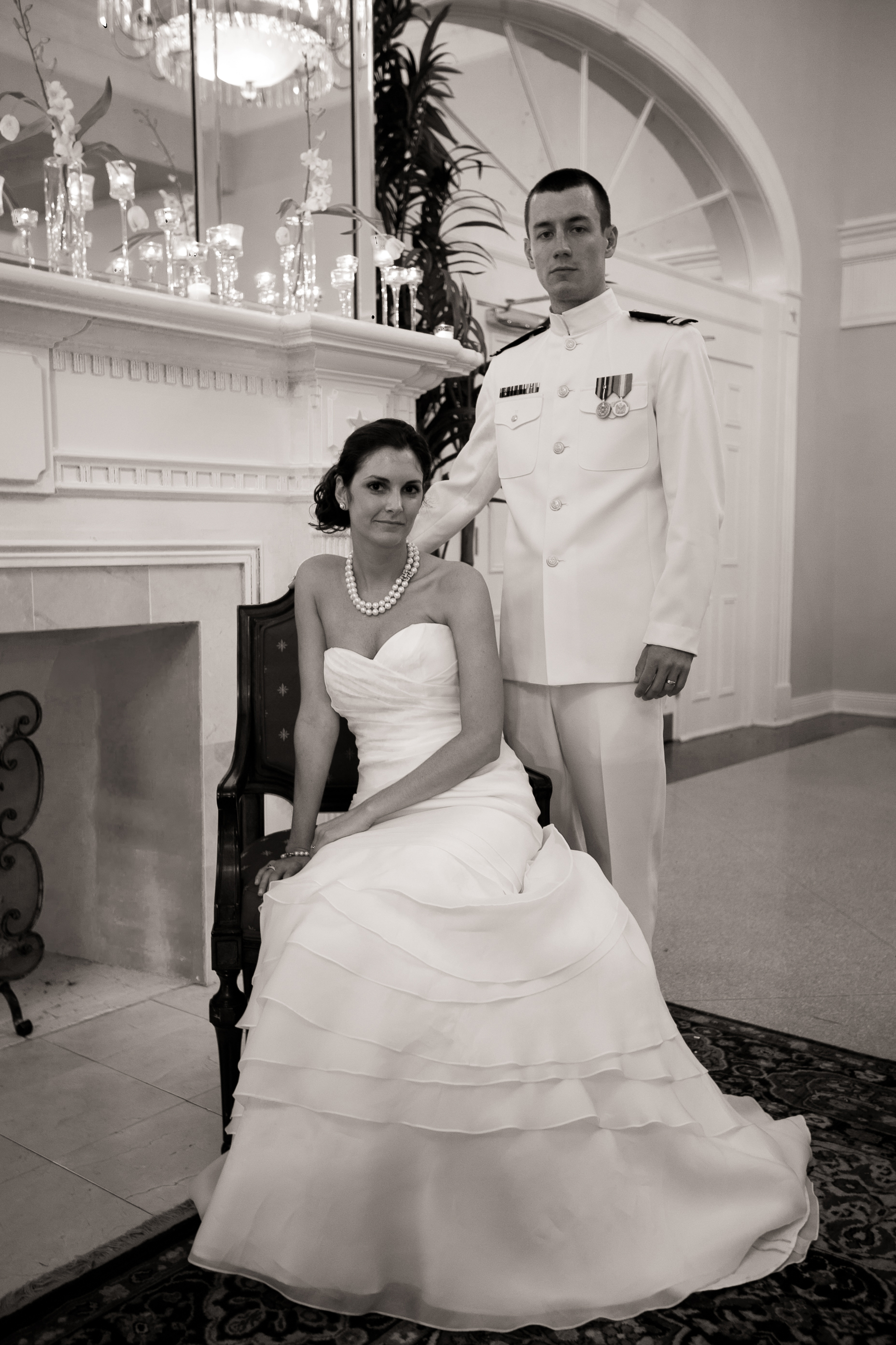 Navy Uniform Wedding The navy base in pensacola