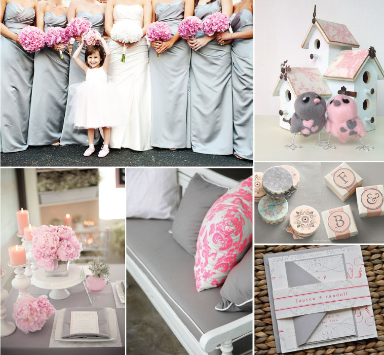 wedding ideas pink and grey thursday purseday grey amp pink a realistic wedding 28285
