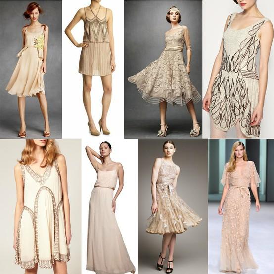 Gatsby Wedding Gown: A Realistic Wedding
