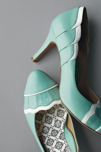 vintage turquoise wedding shoes  e03befcdd1f1