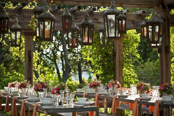 What I'm Loving Wednesday: Lavish Outdoor Receptions