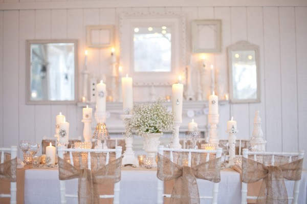 Marvelous Monday Burlap and Bling A Realistic Wedding